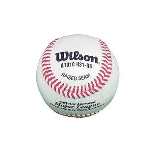Wilson A1010 NFHS High-Quality Baseballs, Set of 12