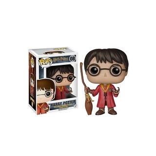 Funko POP Harry Potter - Quidditch Harry Vinyl Figure - Multi