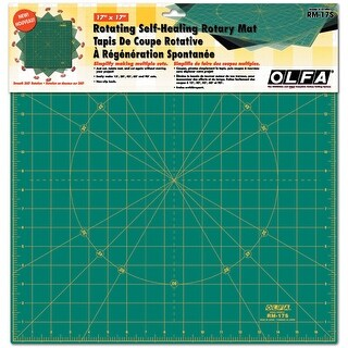 "OLFA Spinning Rotary Mat-17""X17"""