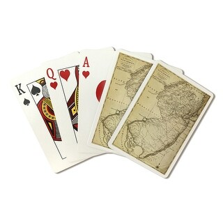 New Jersey - (1795) - Panoramic Map (Playing Card Deck - 52 Card Poker Size with Jokers)