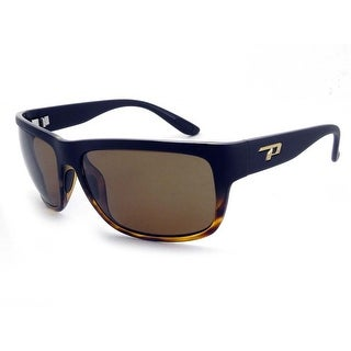Peppers Polarized Sunglasses Orca Matte Black Fade w/Brown Polarized Lens