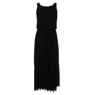 B Darlin Juniors' Pleated Maxi Dress