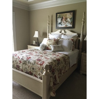 Shop Waverly Charleston Chirp Cotton Quilt Set Free