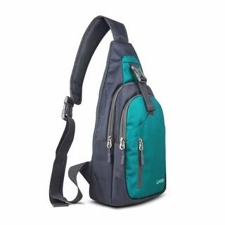 Sling Bag Waterproof Shoulder Backpack Crossbody Purse for Hiking Camping
