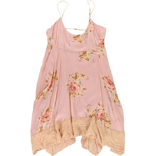 Link to Free People Womens Pullover Slip Dress, pink, Medium Similar Items in Dresses