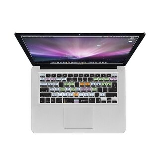 KB Covers Mac OS X Shortcuts Keyboard Cover for MacBook/Air 13/Pro (2008+)/Retina & Wireless (OSX-M-CC-2)