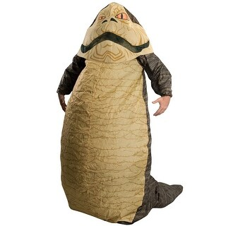 Rubies Jabba the Hutt Inflatable Adult Costume - Brown - Standard