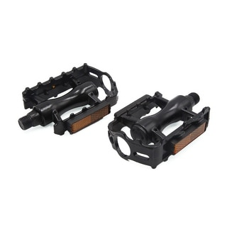 Link to 2 Pcs Black Aluminum Alloy Anti Slip Axle Platform Pedals for Bike Bicycle Cycling Similar Items in Cycling Equipment