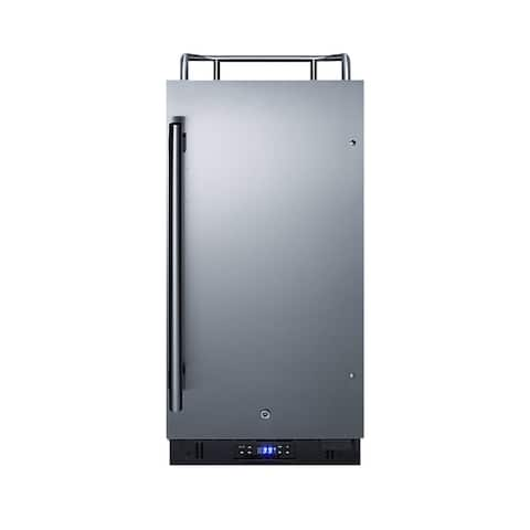 """Summit SBC15NK 15"""" Wide 2.9 Cu. Ft. Built-In or Free Standing"""