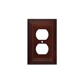 Franklin Brass W35242-C Classic Architecture Single Duplex Outlet Wall Plate