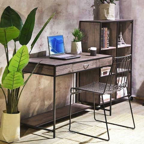 Carbon Loft Searz Rustic 1-Drawer Computer Writing Desk