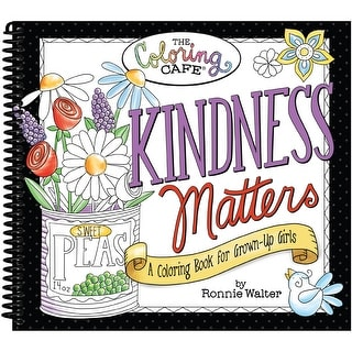 The Coloring Cafe' Coloring Book-Kindness Matters
