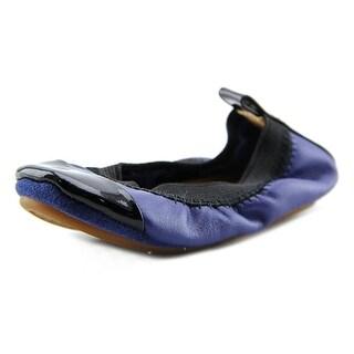 Yosi Samra KSC-224-114 Toddler Round Toe Leather Ballet Flats