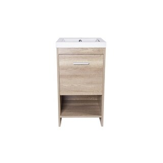 Jano - Claudius Series Vanity Cabinet w/ Resin sink