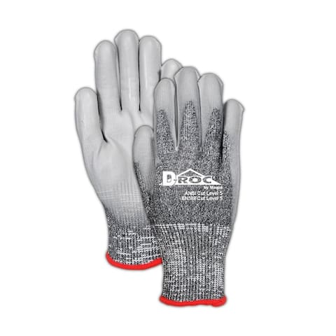 Magid ROC8000TM mGard Men's Max Defense Work Gloves, Medium