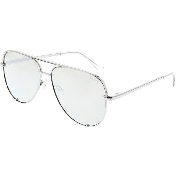 d1923cdb6ed96 Shop Quay Women s Desi Perkins High Key Aviator Sunglasses QC-000142 ...