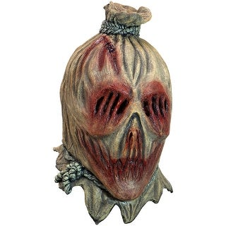 Adult Screamcrow Horror Scarecrow Mask - standard - one size