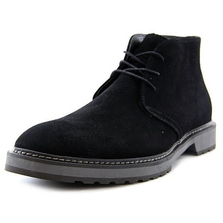 Calvin Klein Agdin Round Toe Suede Ankle Boot