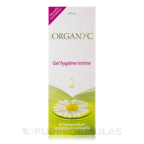Organyc Feminine Intimate Wash - Natural - 8.5 oz