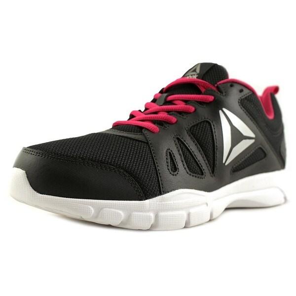 Reebok Trainfusion Nine Women Round Toe Leather Black Running Shoe ... c823fdba8