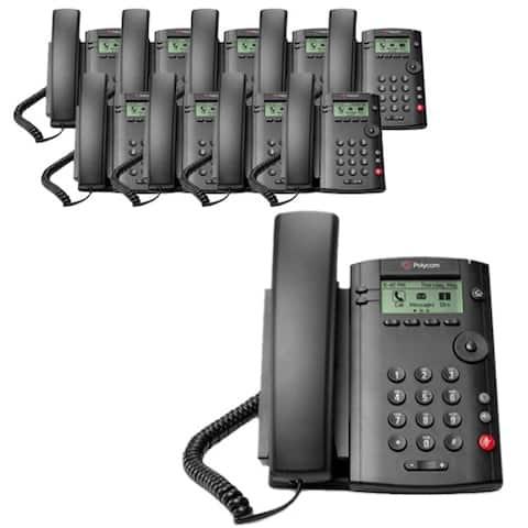 Polycom VVX 101 (2200-40250-001) (10-pack) 1-line Desktop Phone with power supply