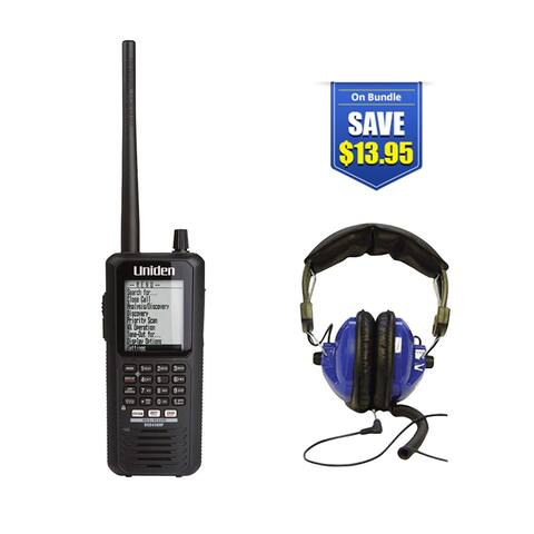 Uniden Bearcat BCD436HP with Universal Headset Kit Bearcat BCD436HP with Universal Headset Kit