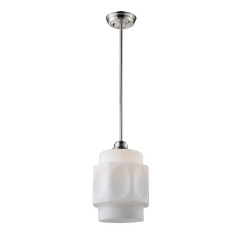 Landmark lighting 66290 1 contemporary modern 1 light ambient landmark lighting 66290 1 contemporary modern 1 light ambient lighting pendant with white patterned aloadofball Choice Image