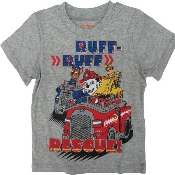 Fleece Long-Sleeve Top and Pant Set 5-6 Blue//Orange Nickelodeon Paw Patrol Boys T-Shirt