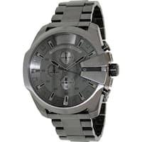 Diesel Men's Master Chief  Grey Stainless-Steel Analog Quartz Dress Watch