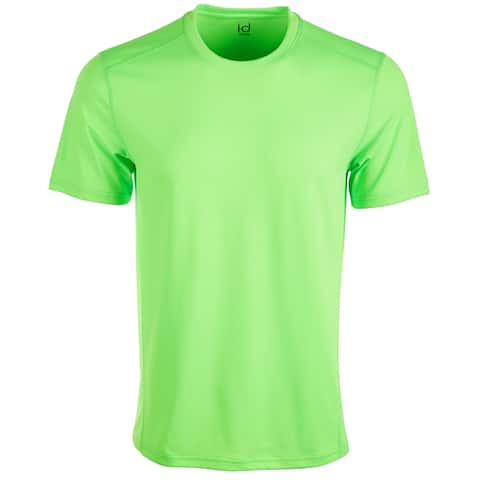 Ideology Mens Activewear Neon Green Size 2XL Core Mesh-Back S/S Training Tee 170