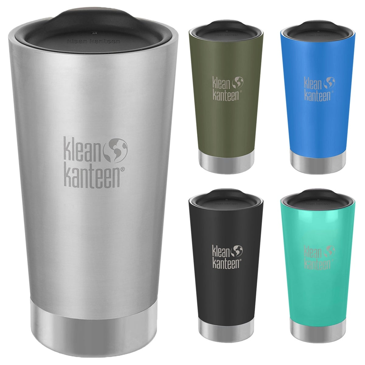 Klean Kanteen Insulated Tumbler 16Oz Water Bottle