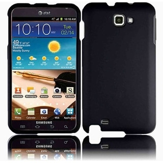 Wireless Xcessories Rubberized Case for Samsung GT-i9220 Galaxy Note - Black