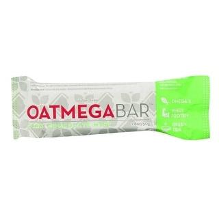 Oatmegabar Protein Bar, Dark Chocolate Mint Crisp - (Case of 12 - 1.8 oz)
