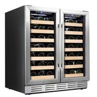 Kalamera 30'' 66 Bottle Dual Zone Built-in Wine Cooler