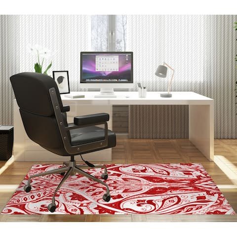 MAHAL RED Office Mat By Kavka Designs