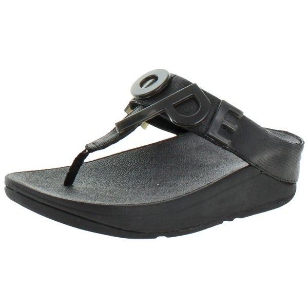 FitFlop Women's Love and Hope T Strap Thong Sandals