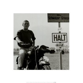 ''Steve McQueen: The Great Escape'' by Anon Movie & TV Posters Art Print (15.75 x 15.75 in.)