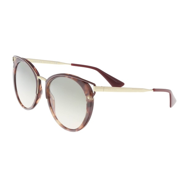 d35f9424ae9d0 Shop Prada PR 66TS UE03H2 Pink Havana Cat eye Sunglasses - 54-20-145 ...