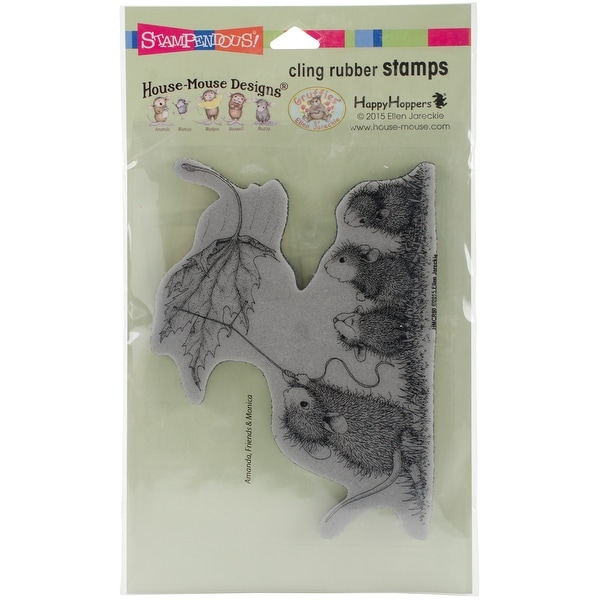 """Stampendous House Mouse Cling Stamp 4""""X5""""-Leaf Kite"""