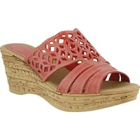 Spring Step Women's Vino Coral Leather