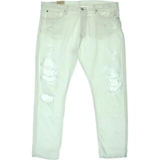 Denim & Supply Ralph Lauren Womens Denim Destroyed Boyfriend Jeans - 32
