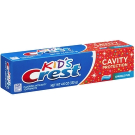 Crest Toothpaste Kids' Cavity Protection, Sparkle Fun Flavor 4.60 oz