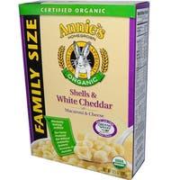 Annie's Homegrown - Organic Shells & Cheddar ( 6 - 10.5 oz boxes)