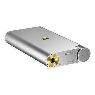 Sony PHA-1A Portable Hi-Res DAC and Headphone Amplifier (Silver)