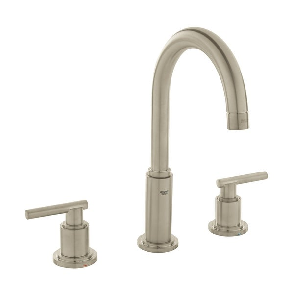 Grohe 20 069 A Atrio 1.2 GPM Widespread Bathroom Faucet with SilkMove and WaterCare Technologies