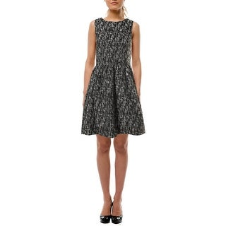 Kensie Womens Juniors Brocade Lined Party Dress - XS