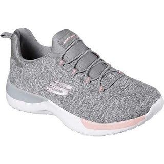 GREY SKECHERS Womens Dynamight Break through Sneaker