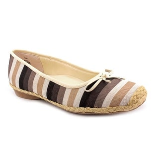 Beacon Jubilee N/S Round Toe Canvas Flats