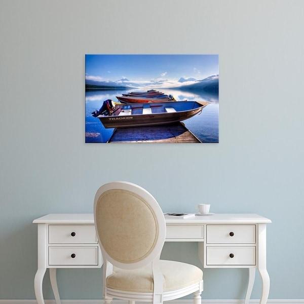 Easy Art Prints Jamie & Judy Wild's 'Lake Mcdonald' Premium Canvas Art