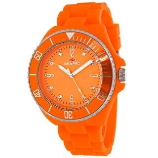Seapro Women's Sea Bubble SP7415 Orange Dial watch